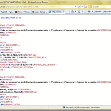 Como conectar PaaSOS mediante servicios XML y JSON