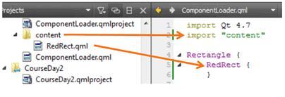Gestión dinámica de componentes QML – I