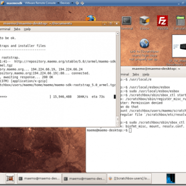 C++ con Qt 4.X en Maemo 5 SDK… todo un reto…