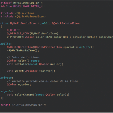 Desarrollar plugins QML para Velneo